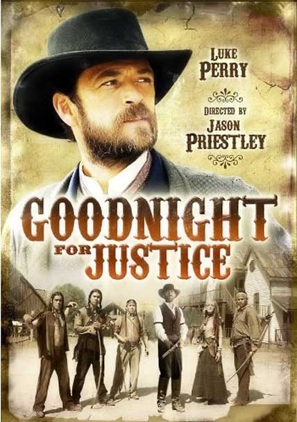 Hallmark film. It plays out in ways you don't expect. Also was shocked the storyline for Hallmark. Always thought hallmark was somewhat family films. Goodnight is a judge in the west that has to deal with his past.