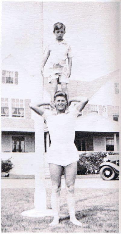 One manning. Joseph Patrick kennedy Jr. & Robert Francis Kennedy. (Bobby)