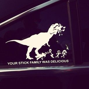 24 Family Stickers On Cars That Are Totally Winning
