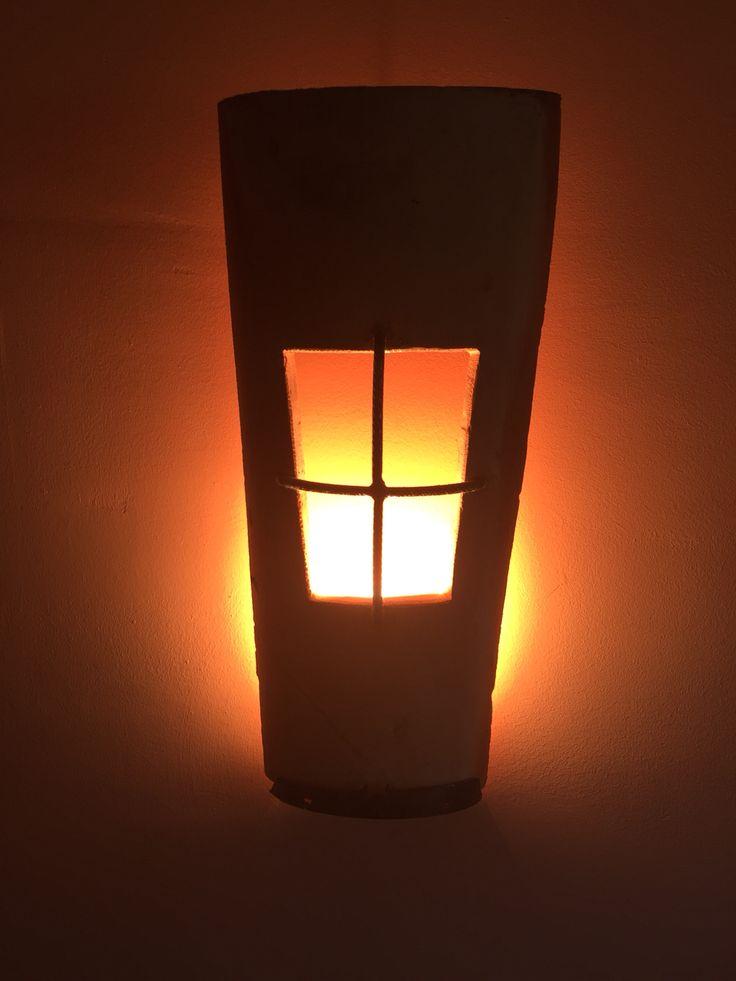 Lámpara de teja