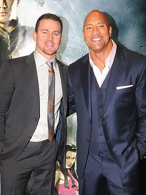 Channing Tatum Baby on the Way; The Rock Gives Parenting Advice