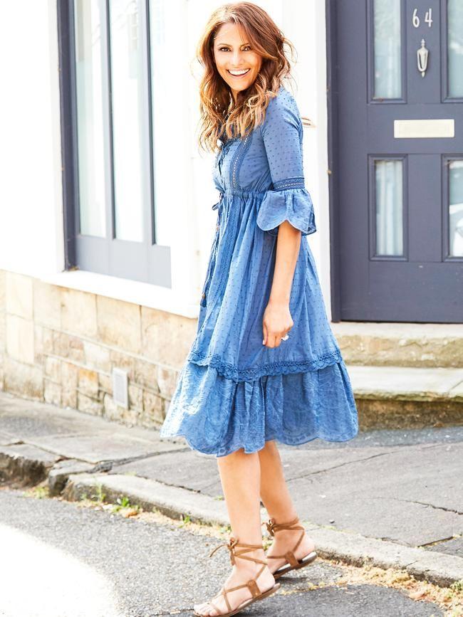 DARE TO DREAM BLUE DRESS SWIISH by Sally Obermeder. BUY IT NOW