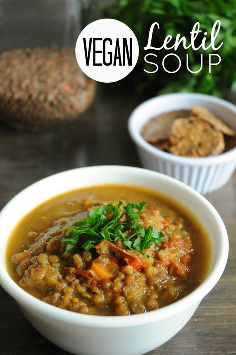 Lentil Soup with Cumin and Coriander