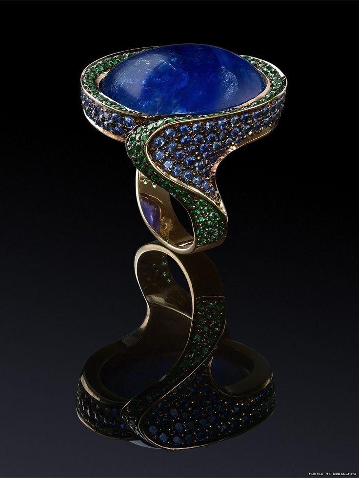 Шикарные ювелирные украшения с драгоценными камнями (26 фото)