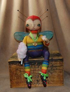 Robin Seeber Belle bumble doll - Google Search