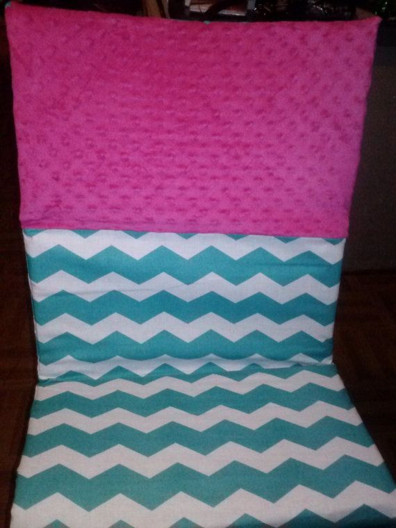 Hey, I found this really awesome Etsy listing at http://www.etsy.com/listing/156117171/teal-and-hot-pink-chevron-kinder-mat-nap