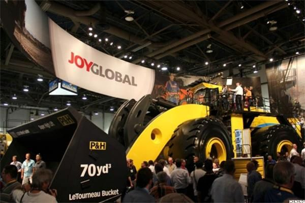 Before today's market open, Joy Global (JOY) posted fiscal 2016 third quarter…