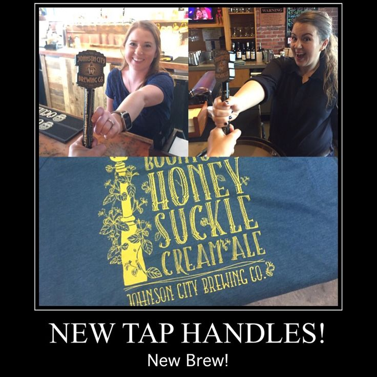 Taproom opens at 1pm with Boomtown Honeysuckle Cream Ale still rockin our taps! You can also find it at Label Restaurant tonight along with a few of our Brewers :) Don't forget to snag one of the awesome shirts designed by Boomtown & Co along with your brew! NEW tap handles went live this afternoon with a few of our accounts - can't wait to see these beauties at all our distribution locations!
