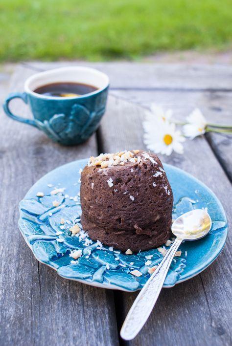 Mugcake med choklad