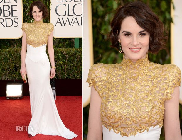 michelle dockery golden globe dress | Golden Globes 2013 Fashion Round Up ~ Tea With Lemon