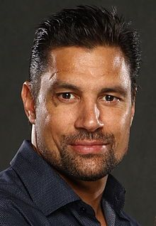 Manu Bennett July 2014.jpg Ethnicity:  Maori and Irish known for his portrayal as the Gallic gladiator Crixus in the Starz television series Spartacus. He has also appeared as Azog the Defiler in Peter Jackson's three-part film adaptation based on the The Hobbit by J. R. R. Tolkien, and as Slade Wilson/Deathstroke in The CW TV series Arrow.