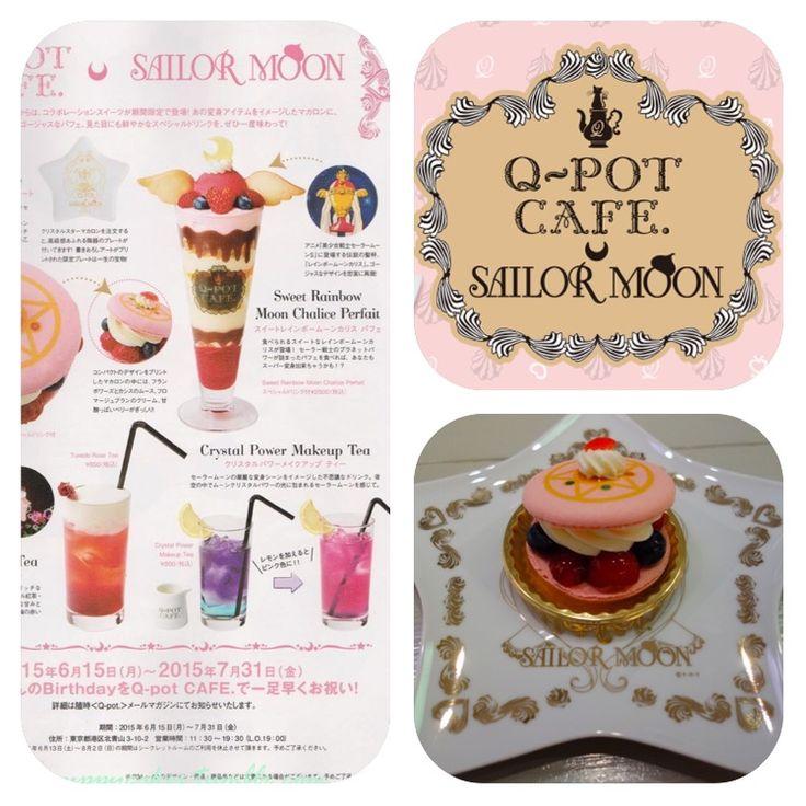 Sailor moon cafe; Q-pot Tokyo 3-10-2 Kita-Aoyama Minato-ku Tokyo 107-0061