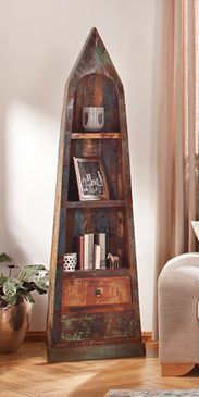 SIT Bootsregal »Riverboat«, Höhe 190 Cm #regal #boot #maritim #. Moderne  WohnzimmerBali MöbelMaritime ...