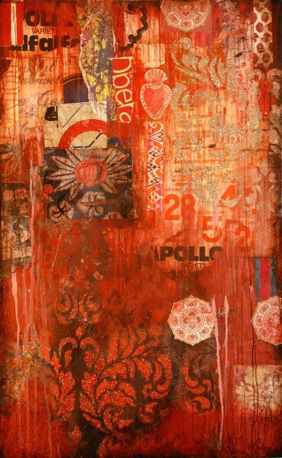 Mixed media artist Jill Ricci