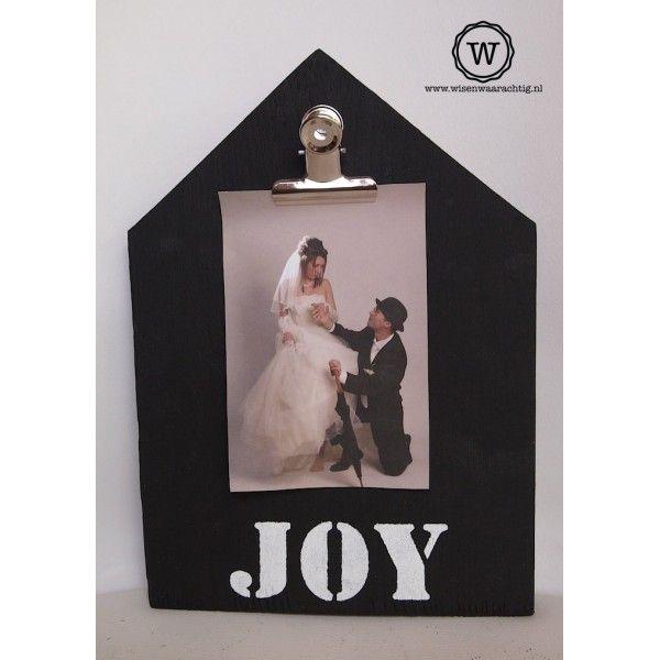 Memobord huis met tekst, bijzonder #cadeau voor een #bruiloft of #trouwdag, evt…