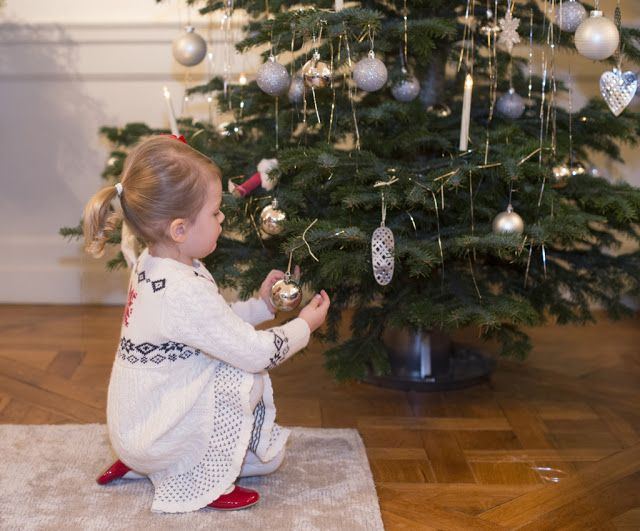Sweden's Princess Estelle Christmas 2014 ~ The Palace released three new photos of Princess Estelle for Christmas, along with a video of Estelle and her parents, Crown Princess Victoria and Prince Daniel, decorating the Christmas tree at their home at Haga Palace.