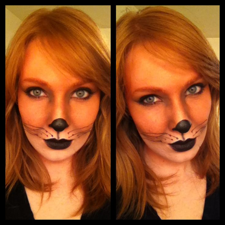 Fox Halloween Makeup version 2.0 - Imgur