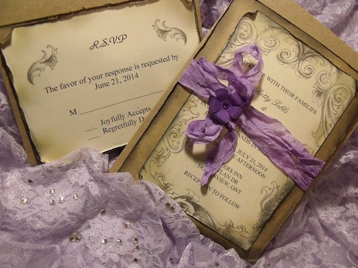 The 25+ best Purple wedding invitation suites ideas on Pinterest - vintage invitation template