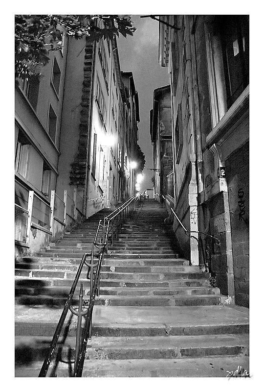 Sombre ruelle - Lyon