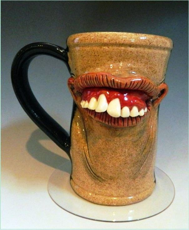 D funny coffee mug you can 39 t go to bed without a cup of tea Unique coffee cups mugs
