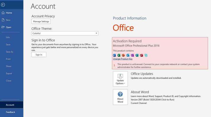 Cara Mengatasi Excel Product Activation Failed
