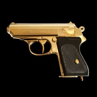 Walter PPK James Bond Limited Edition 24ct. Gold | Goldgenie USA