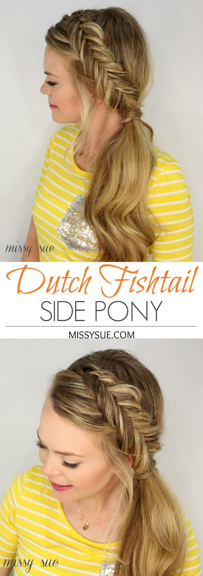 best 25+ dutch fishtail braid ideas on pinterest | fishtail braid