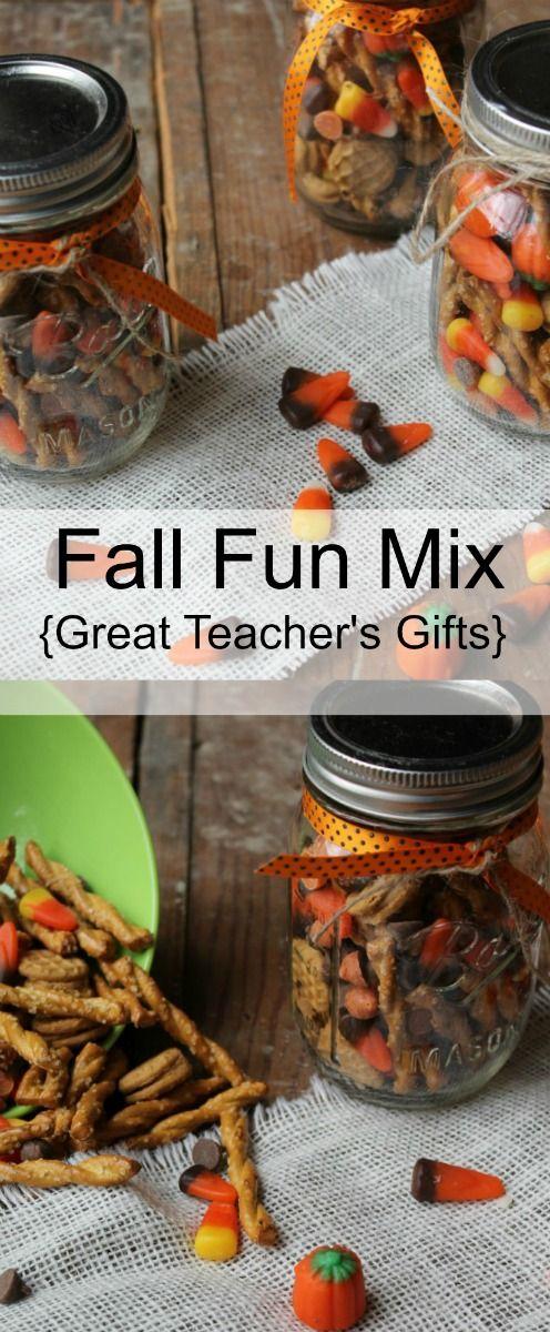 Fall Fun Mix Recipe Butter Candy Corn And Teacher Gifts