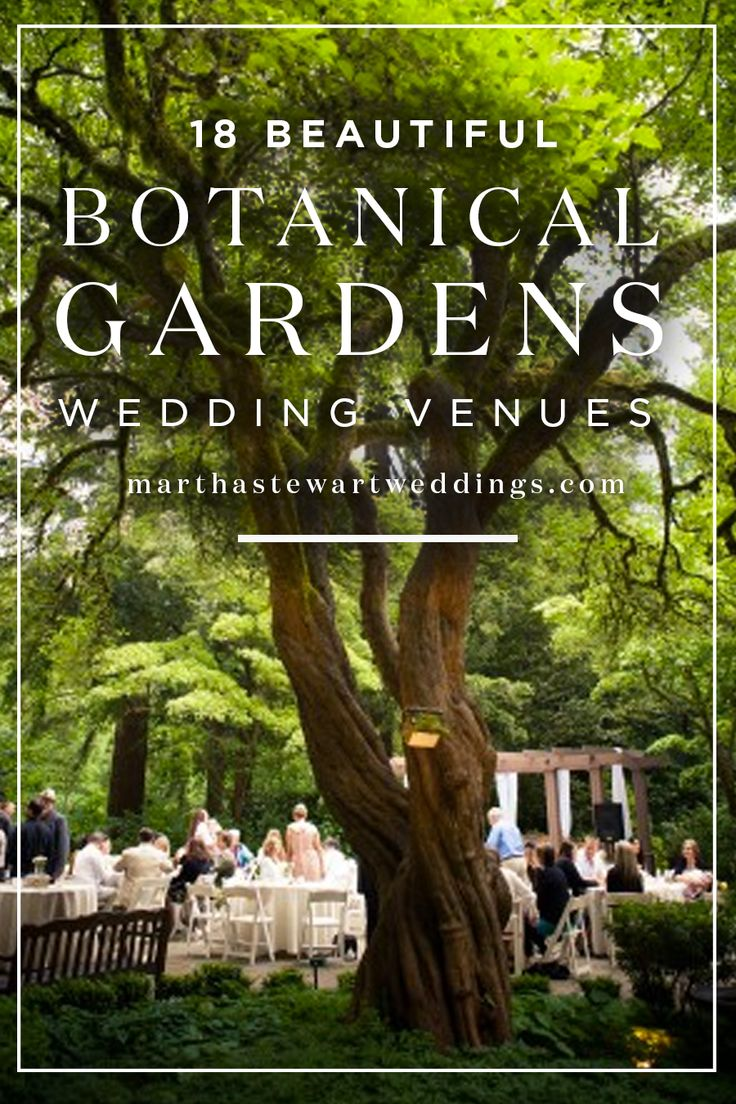 18 Beautiful Botanical Gardens Wedding Venues Martha Weddings