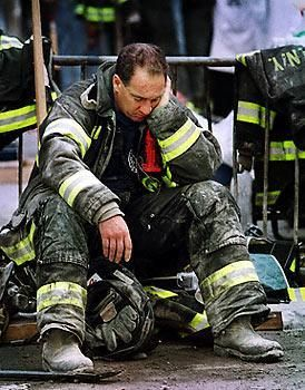 9/11 Hero. 9/11 DAY OF SERVICE AND REMEMBRANCE | a first responder, one among many who selflessly served--some, even to their death.
