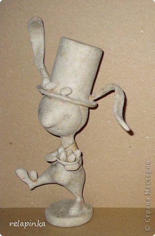 Пасхальный кролик (поэтапные фоты росписи)  фото 4
