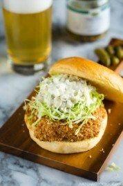 Ebi Katsu Burger (Baked Panko Crusted Shrimp Burger) | Easy Japanese Recipes at JustOneCookbook.com