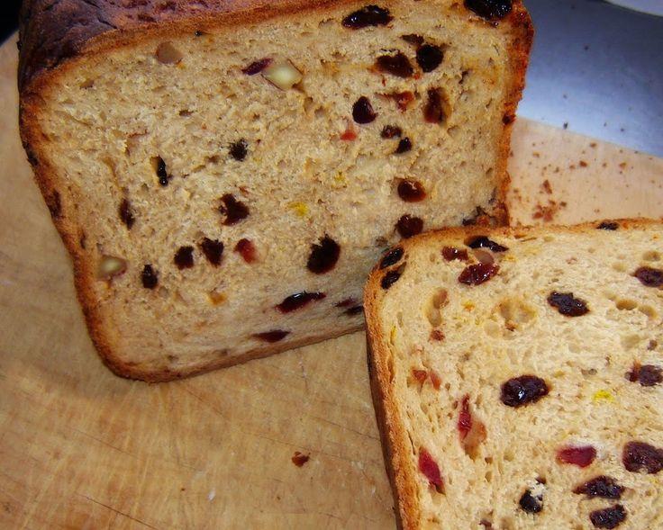 Pão de Nozes e Passas - Máquina de Pão Mais