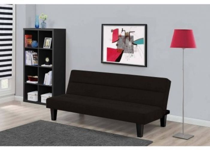 This comfortable,Modern Futon Sofa Bedis ideal for hanging out in the lazy afternoon or catching some sleep at night. It brings both style and function into your home, folds quickly and easily from a modern, stylish sofa to a full-size bed and features a microfiber cover for the ultimate in comfort. | eBay!