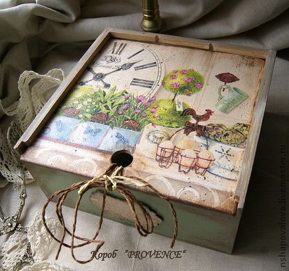 """Короб """"Provence"""" - короб для специй,короб для трав,короб для чая,прованс"""