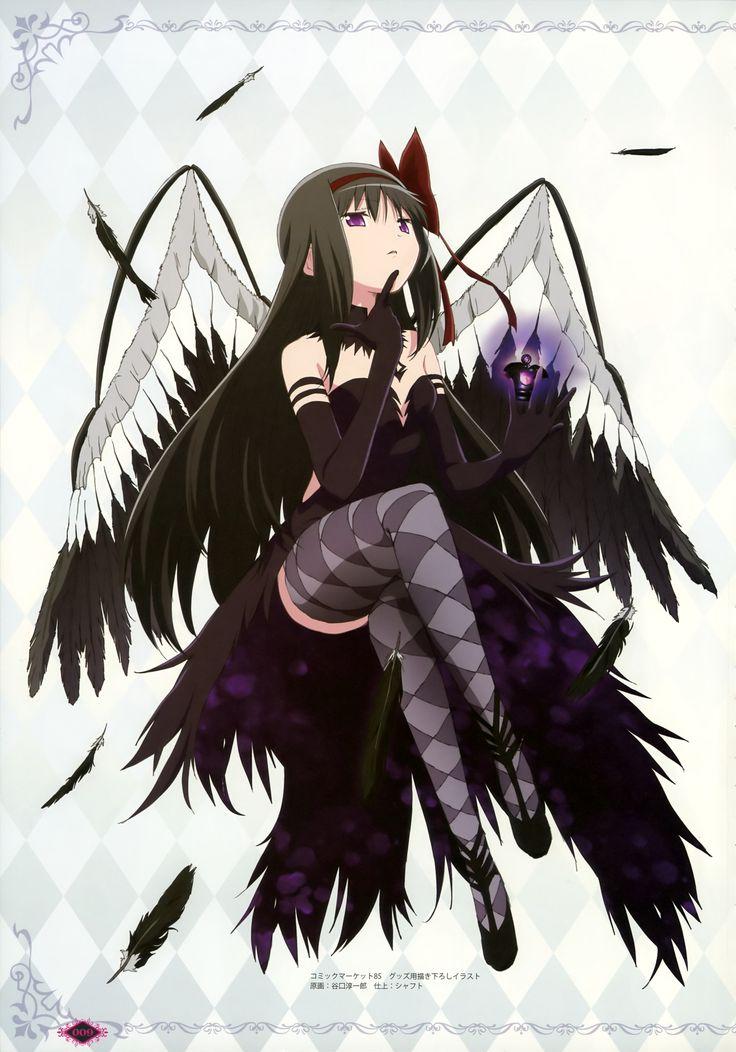 Demon Akemi Homura Mahou Shoujo Madoka Magica