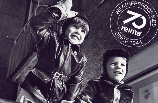 Reima. Weatherproof kids since 1944.