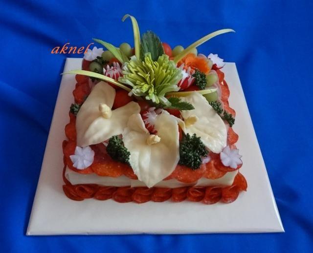 Slané, strana 9 | dorty od mámy Slaný čtverec