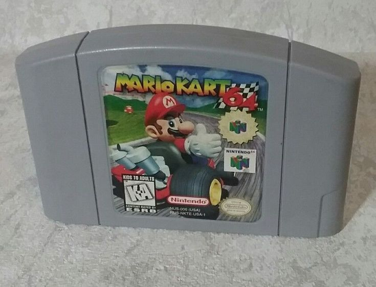 Mario Kart 64 (Nintendo 64, N64) Game Cart Only - Authentic #Nintendo
