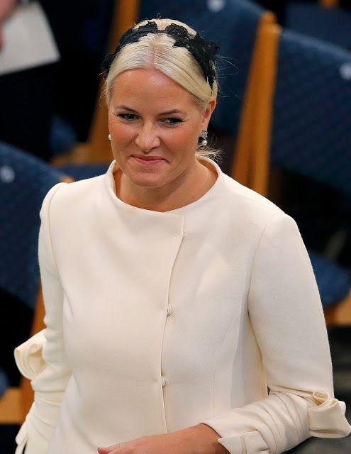 Princess Mette Marit attends The Nobel Peace Prize Ceremony