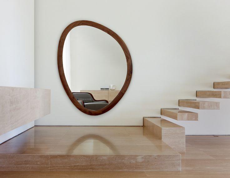 """Espejo madera maciza """"Giolo"""" de Porada"""