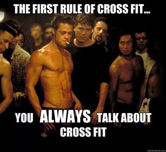 #crossfitters You know it!