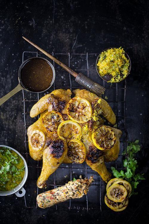 Chicken on the braai | Braai 'n hoender