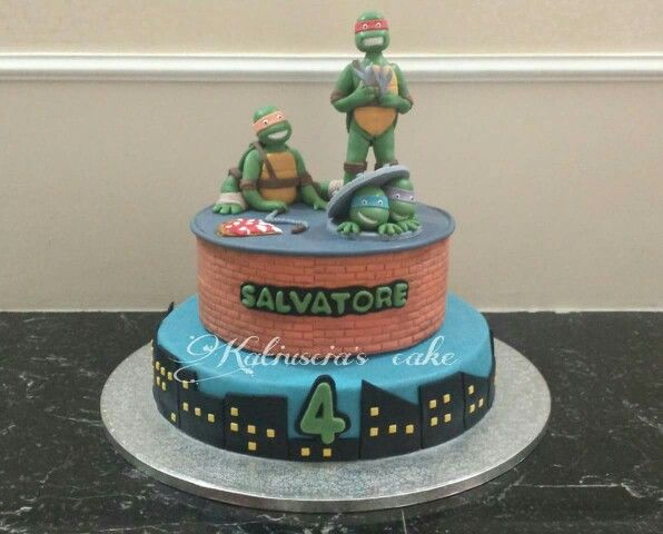 Torta tartarughe ninja