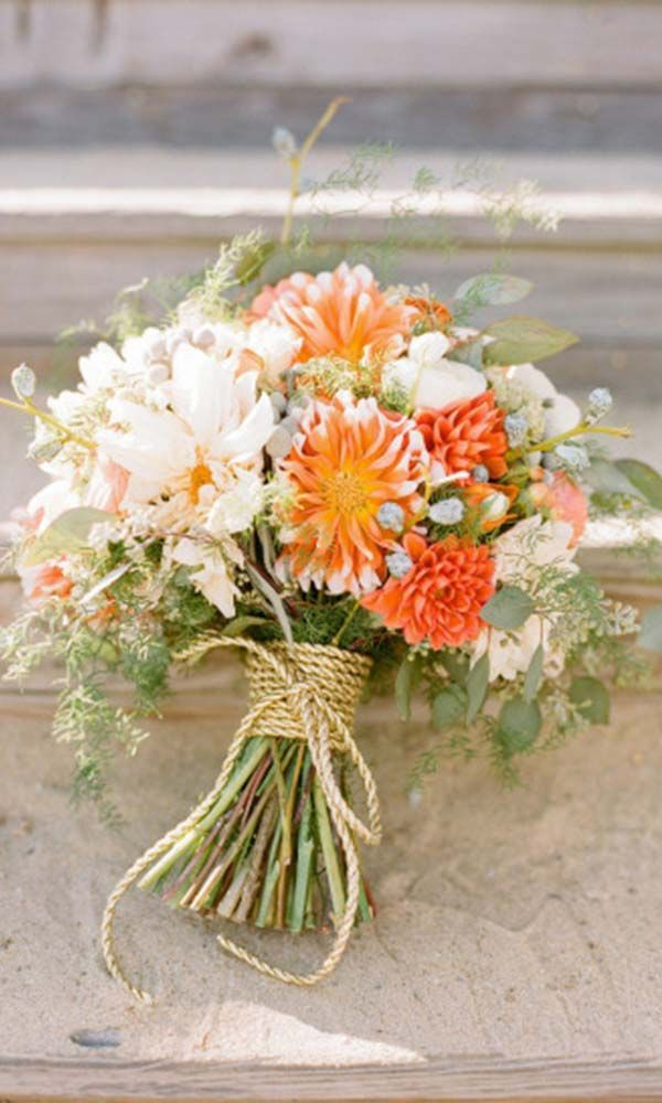 24 Gorgeous Summer Wedding Bouquets ❤ See more: http://www.weddingforward.com/gorgeous-summer-wedding-bouquet