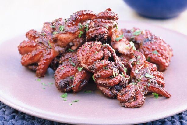 BBQ Octopus Recipe - Taste.com.au