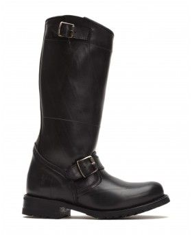The Frye Company Engineer Shearling Tall