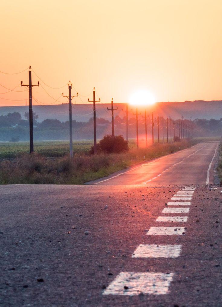 sunrise in romania ,photography, picture, art