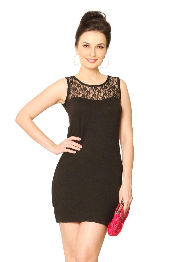 Miss Chase Women's Cotton Bodycon Dress 7