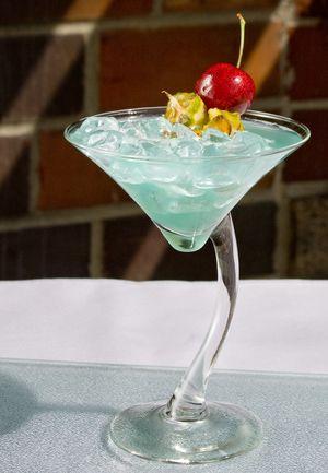 Beautiful Blue Tequila Cocktail...Envy: Envy Cocktail